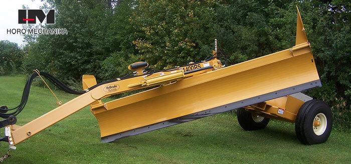 Pusiau prikabinamas greideris HyGrade 1400 RS
