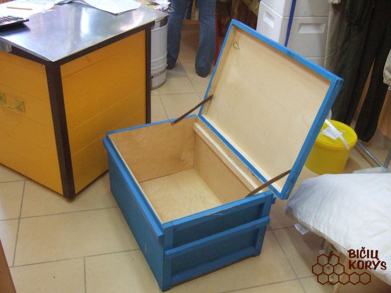 Dėžė koriams laikyti